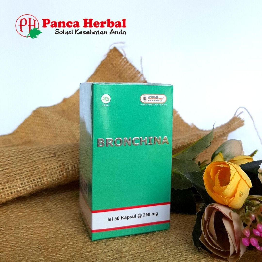 Herbamed Bronchina – Herbal untuk Paru-Paru & Infeksi Saluran Pernafasan