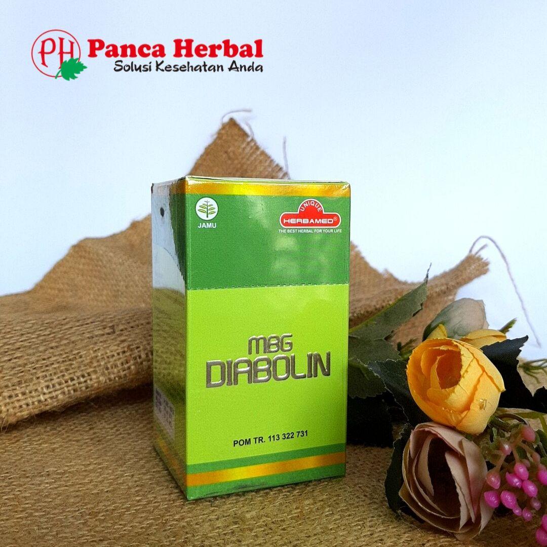 Herbamed MBG Diabolin – Herbal untuk Kesehatan Fungsi Pankreas